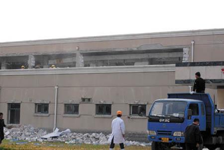 r北京平谷一食品厂爆炸液氨泄漏