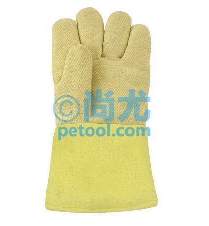 国产编织布高温五指手套(500℃)