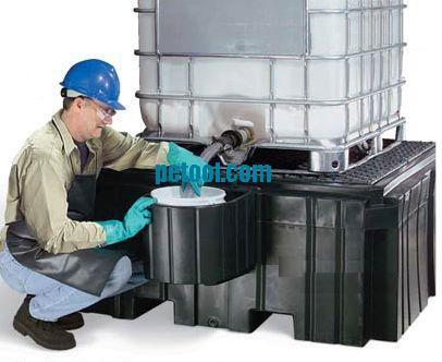 美国ibc集装箱桶分装托盘(l1575*w1981*h660mm)