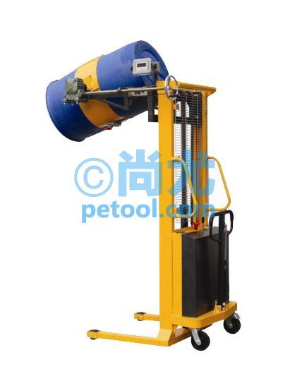 国产500kg半电动带电子称油桶翻车(举高1450)(sku:00257410)