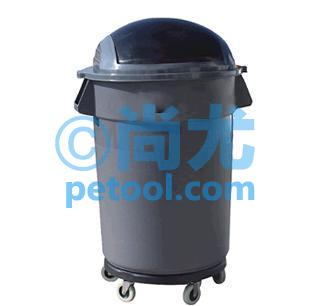 国产半圆顶可移动垃圾桶(l700*w625*h1100mm)