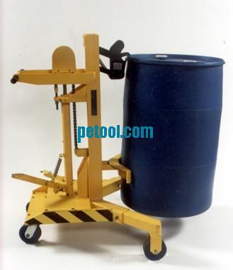 美国450kg夹爪式抓取手动油桶搬运车(h410/965mm)