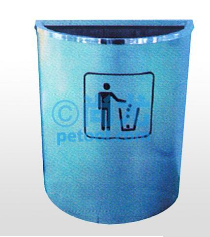 圆柱形带盖金属垃圾桶下的详细分类:;