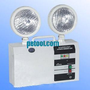 圆形灯头充电式双头应急灯(无电量显示)