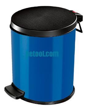 德国深蓝色脚踏式垃圾桶(12l)