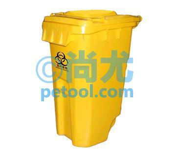 国产黄色方形医疗废弃物回收桶(l745*w580*h1070mm)