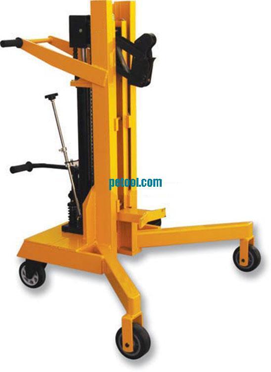 国产450kg脚踏式液压油桶搬运车(h500mm)