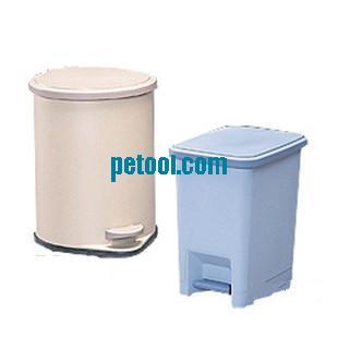 进口方形脚踏式塑料垃圾桶(l236*w325*h358mm)