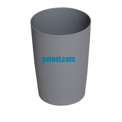 国产多色圆形塑料垃圾桶(8l)