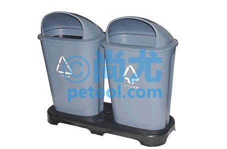 国产带底座组合式垃圾桶(l936*w340*h788mm)