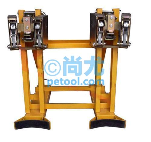 国产叉车用塑料桶/钢桶搬运夹(双桶型)