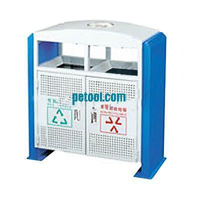 国产方形金属分类垃圾桶(l900*w400*h950mm)