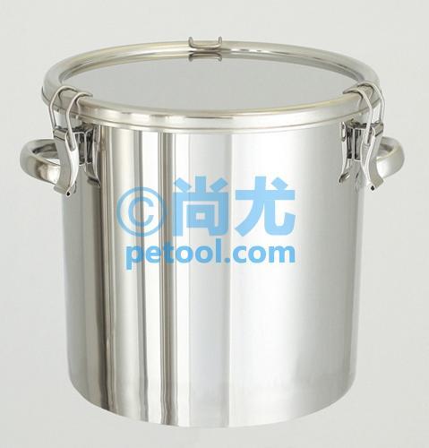 日本可堆叠式304不锈钢储存桶(10-200l)