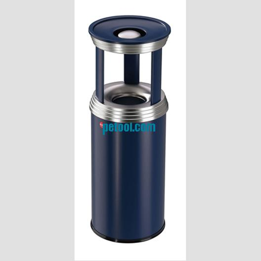 德国带烟灰缸防火垃圾桶(ф255/330*h700/740/920mm)
